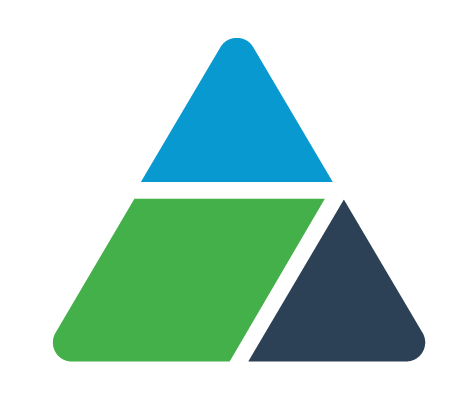 Smarter Balanced Logo Triangle Symbol.