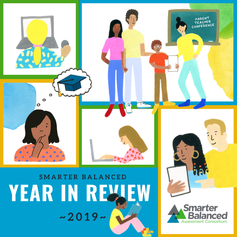 Smarter Balanced Year in Review 2019.