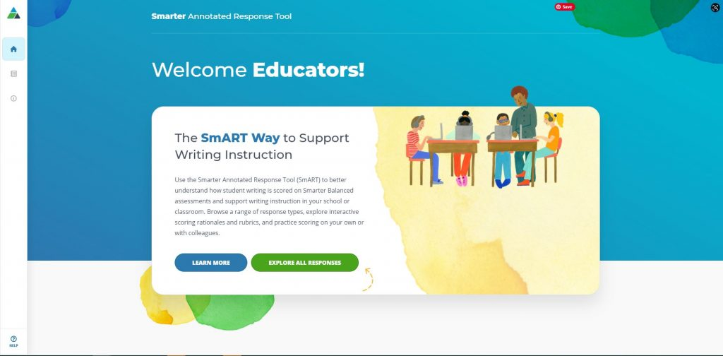 Home page of forthcoming SmART website: Smarter Annotated Response Tool.