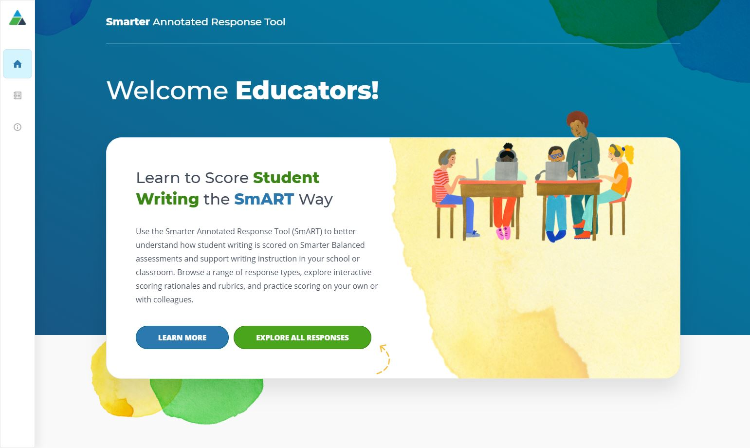 Smarter Annotated Student Response Tool (SmART) home page